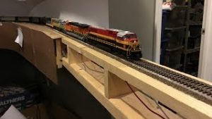 Model Railroad Drop Bridge Overview – Wiring + Construction