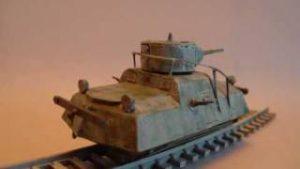 UM 1/72 Armored Railroad Car DT-45 – A Building Review