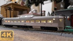 ⁴ᴷ HO Scale Trains Under The Christmas Tree