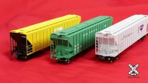 HO Scale PS-4785 Covered Hoppers by ScaleTrains.com