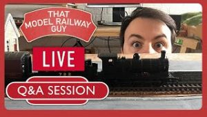 LIVE Q&A with That Model Railway Guy – 5K Subscriber Special!