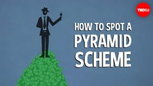 How to spot a pyramid scheme – Stacie Bosley