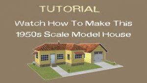 How To Make an HO Scale Model Railroad House Tutorial |?