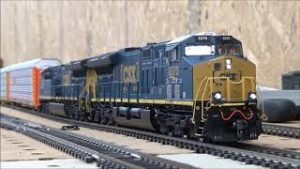 HO Scale trains GEVO CSX with sound and 1 DPU