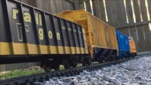 G Scale trains on 3 4 18