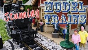 Stunning Model Trains at Apple Valley Model Railroad Club