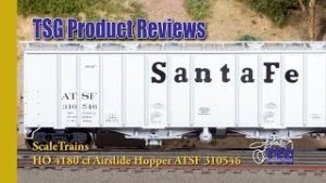HO Airslide Hopper Scale Trains Operator Product Review