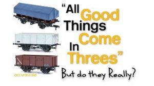 Model Railway | Three NEW Accurascale Wagons | Dean Park 285